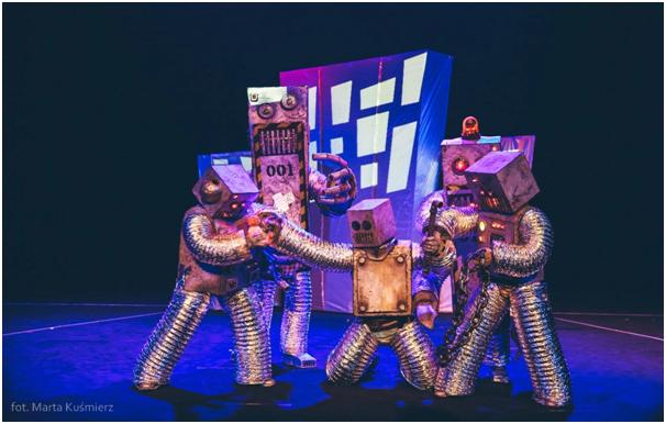 """הנחה מיוחדת לחברי אגודה להצגה """"רובוט פלאנט"""""""